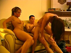 Danish AnnMarie in a threesome