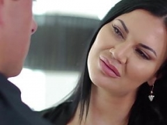 NuruMassage Brit Eager mom Jasmine Jae Seduces Cop