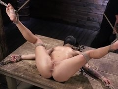 Kissa Sins was looking for sweets on Halloween but found BDSM fun