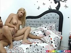 Cute blonde tranny whore fucked up live on Cruisingcams.com free