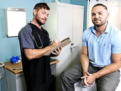 Doctor Jack Andy fucking his horniest patient yet, Julian Knowles