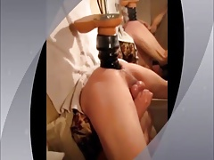 Machine with Dildo Fucked,solo
