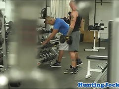 Gym stud pulled during work out