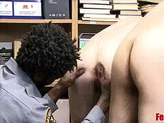 Brothers Caught By bbc Cop pummeled In The donk