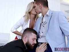 Bi threeway in office