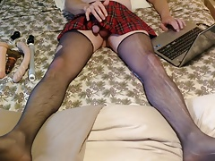 plaid skirt part 1 of 4