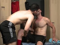 Gay American surfer fucks his man raw before riding his cock