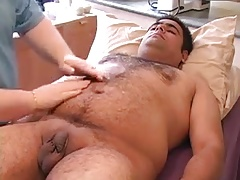 Not Me Vol.23 - doctor plays with hairy guy's small uncut