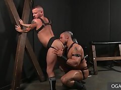 Hardcore Gay Anal In The Leather Room