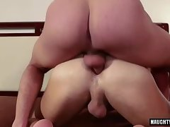 Big dick jock ass to mouth and cum eating