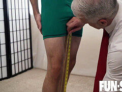 FunSizeBoys - puny boy takes silver parent monster wood and whimpers