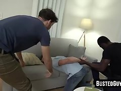 Cute male hooker brutally banged by a BBC undercover cop
