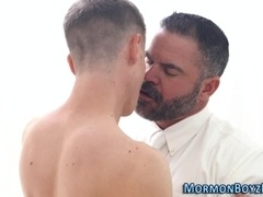 Mormon gets ass creampied
