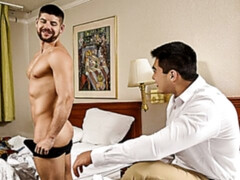 Axel Kane fucked by an undercover officer Connor Halstead